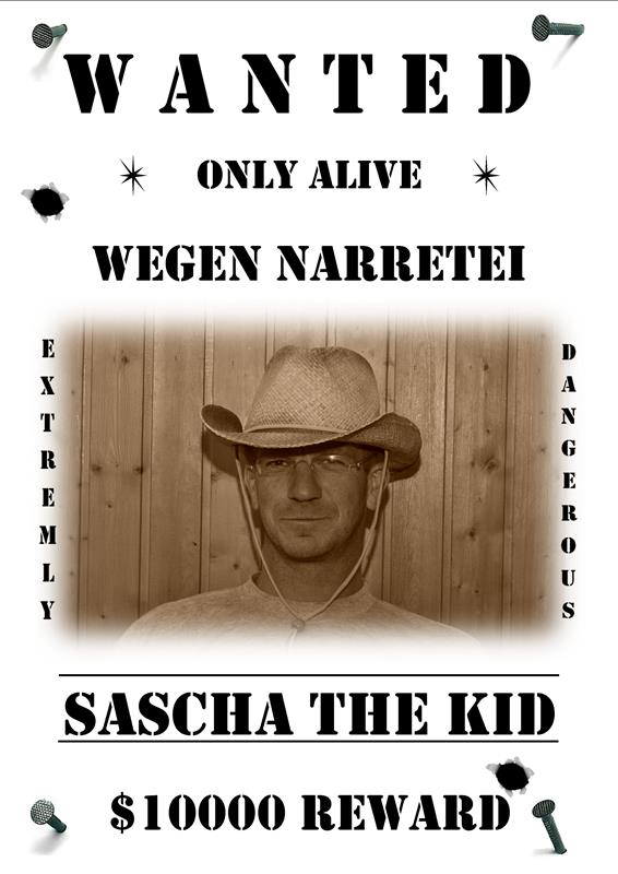 Sascha The Kid sw A4